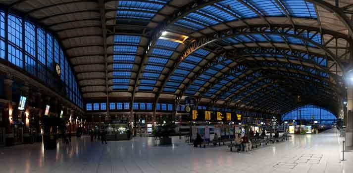 La gare Lille flandres